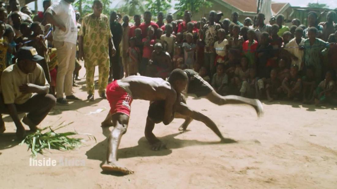 Bringing Nigeria's rich tradition of wrestling and boxing to the world stage - CNN