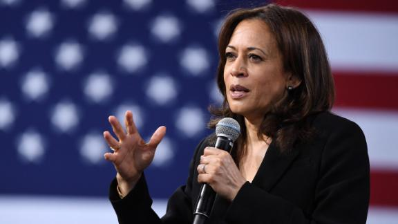 Democratic presidential candidate U.S. Sen. Kamala Harris (D-CA) speaks at the National Forum on Wages and Working People: Creating an Economy That Works for All at Enclave on April 27, 2019 in Las Vegas, Nevada.