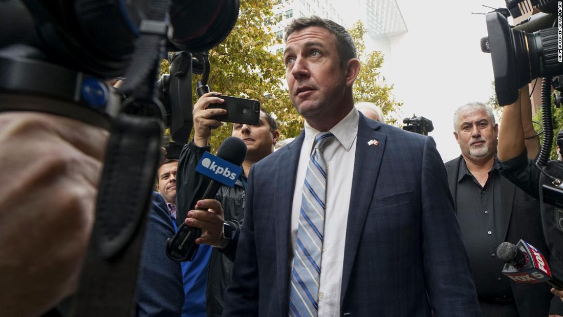 Duncan Hunter says hell resign after holidays following guilty plea over misusing campaign funds