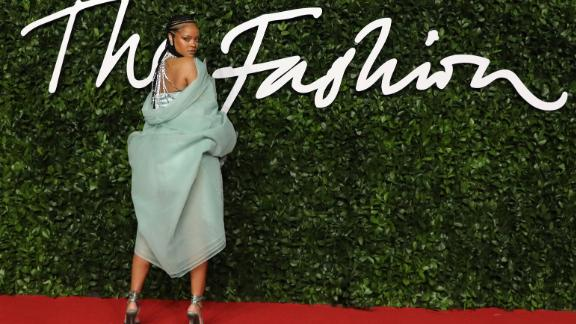 Barbadian singer Rihanna poses on the red carpet upon arrival at The Fashion Awards 2019 in London on December 2, 2019. - The Fashion Awards are an annual celebration of creativity and innovation will shine a spotlight on exceptional individuals and influential businesses that have made significant contributions to the global fashion industry over the past twelve months. (Photo by ISABEL INFANTES / AFP) / RESTRICTED TO EDITORIAL USE -  NO MARKETING NO ADVERTISING CAMPAIGNS (Photo by ISABEL INFANTES/AFP via Getty Images)