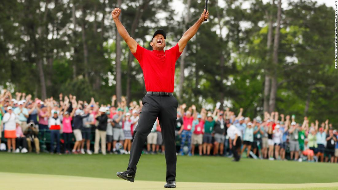 Tiger Woods wins again as USA stages late rally in Presidents Cup