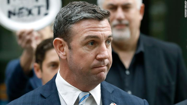 Hasil gambar untuk Former Rep. Duncan Hunter sentenced to 11 months in prison for misusing campaign funds