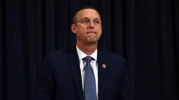 Ranking member of the House Judiciary Committee Doug Collins (R-GA) arrives for the House Judiciary Committee's first Trump impeachment hearing on Capitol Hill December 4, 2019 in Washington, DC.