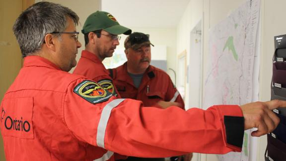 Specialists from Ontario's Ministry of Natural Resources and Forestry are among those assisting in Australia.