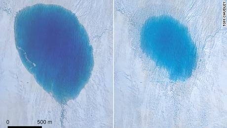 A massive waterfall formed on Greenland's ice sheet. Here's why it matters