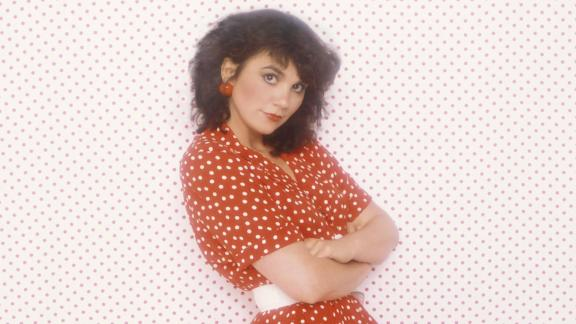 """Ronstadt continued to rack up Grammy wins and nominations throughout the 1980s, including two nods for her album """"Get Closer."""" Seen here is the dress she wears on the cover of the 1982 album."""