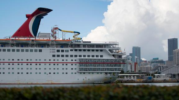 Carnival, the largest cruise line, said its position on the list reflects the scope of its US operations.