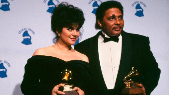 """Ronstadt met singer Aaron Neville at the 1984 World's Fair in New Orleans, and when it came time to record her 1989 album """"Cry Like A Rainstorm, Howl Like The Wind,"""" working with Neville was at the top of her list. The resulting songs """"Don't Know Much"""" and """"All My Life"""" earned the duo another two Grammys."""