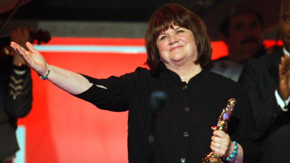 """Ronstadt, seen here accepting the Trailblazer Award during the 2008 ALMA Awards, released her last solo album in 2004. Called """"Hummin' to Myself,"""" it was a collection of standard songs recorded with a small jazz ensemble, Ronstadt writes in her memoir. """"After I turned 50, my voice began to change, as older voices will,"""" she said. """"I re-crafted my singing style and looked for new ways to tell a story with the voice I had."""""""