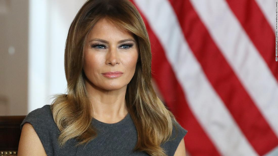 In calling for 'peace' Melania Trump strikes different tone than the  President - CNNPolitics