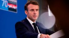 France's Macron positioning himself as leader of the world