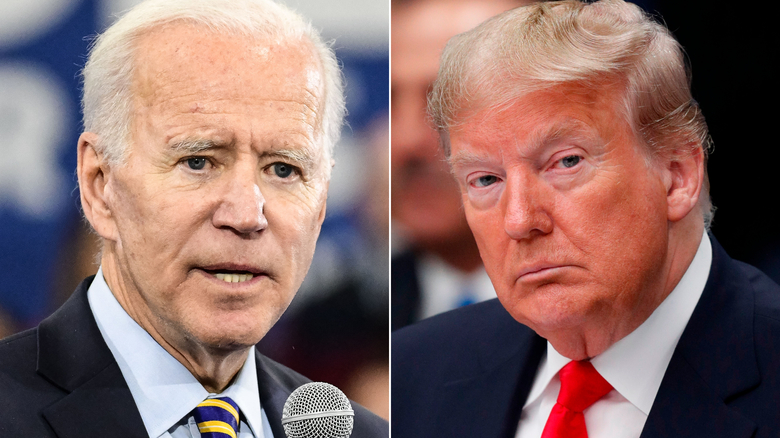Image result for images of biden trump