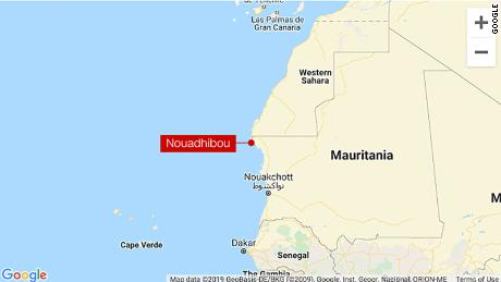 At least 58 people killed as boat carrying migrants sinks off Mauritania coast