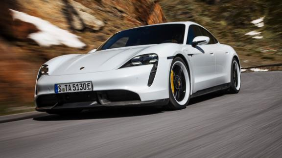 The all electric Porsche Taycan