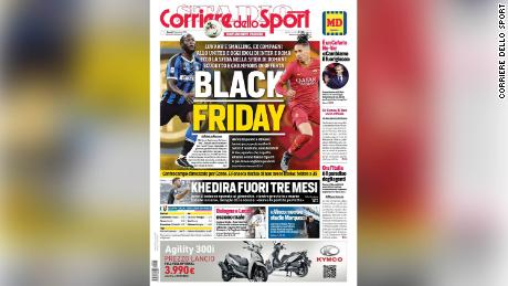 Corriere dello Sport has defended its front page.