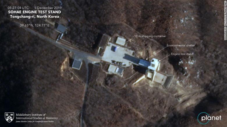 На ракетному полігоні в КНДР зафіксували активність