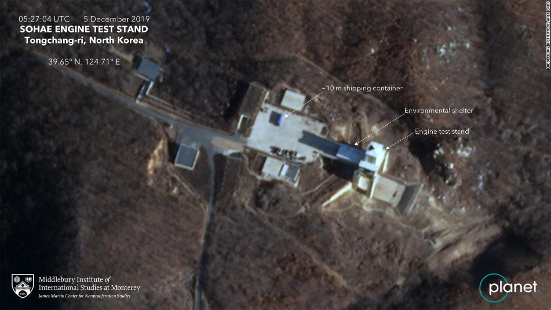 New satellite image shows activity at previously dismantled N Korean test site