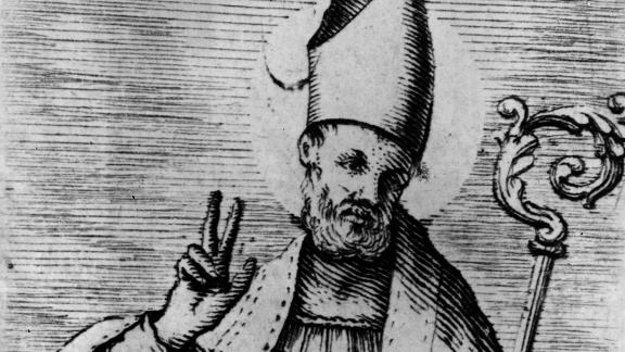 The original St. Nicholas was a real person -- a Greek man with a really interesting story.