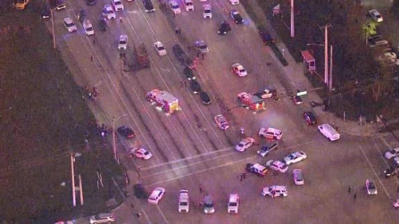 The shootout ended around 5:30 p.m. Thursday in Miramar, Florida, with four people dead.