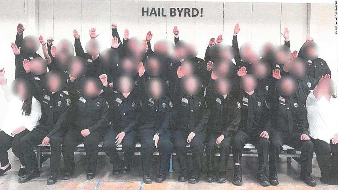 All the cadets pictured giving a Nazi salute will be fired, West Virginia governor says