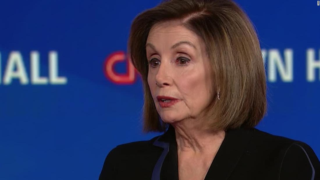 Pelosi town hall shows she played impeachment masterfully