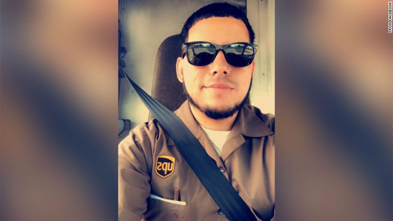 UPS employee Frank Ordonez was killed during Thursday's shootout in Florida, his brother said.