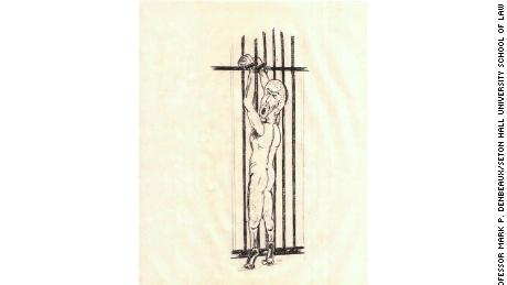 Newly released illustrations depict post-9/11 torture techniques