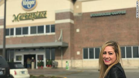 """Katie Cooksey's Kroger Krazy account gives readers a """"sense of community,"""" she said."""