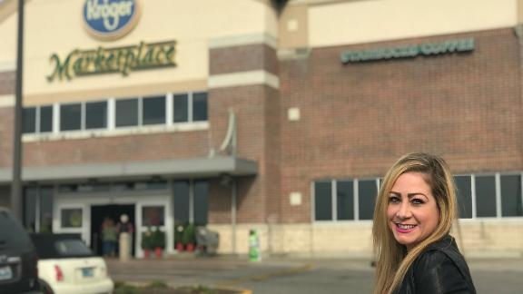 "Katie Cooksey's Kroger Krazy account gives readers a ""sense of community,"" she said."