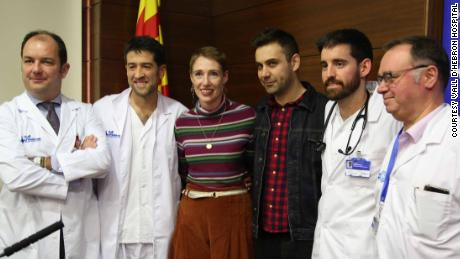 """Miracle"" woman Audrey Schoeman survived a six-hour cardiac arrest after developing hypothermia while hiking during a snowstorm in the Spanish Pyrenees."