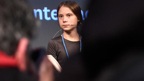Swedish climate activist Greta Thunberg held a press conference in Madrid at the COP25 summit.