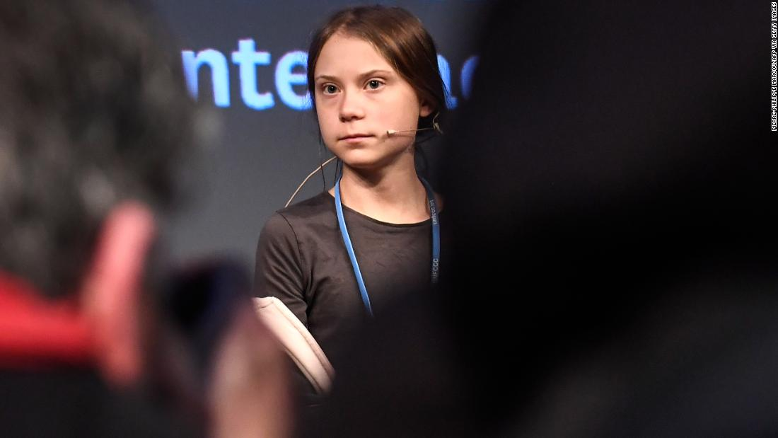 Greta Thunberg delivers sharp criticism at climate conference