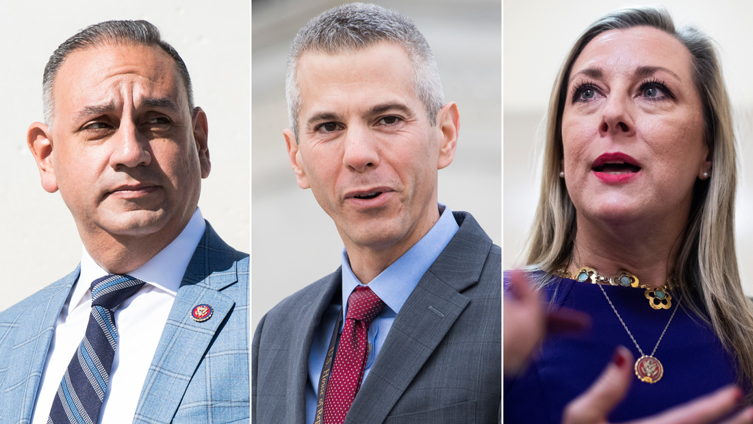 Vulnerable Democratic representatives -- Gil Cisneros of California, Anthony Brindisi of New York and Kendra Horn of Oklahoma -- are weighing how they will vote when House Democrats draft articles of impeachment against President Donald trump.