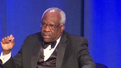 Justice Clarence Thomas suggests that the United States should regulate Facebook, Google and Twitter