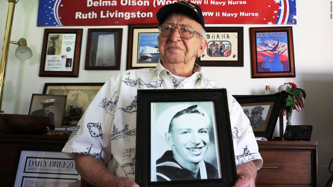 One of the last survivors of the USS Arizona will be interred on the sunken warship