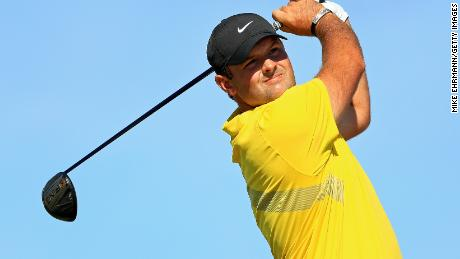 Patrick Reed was penalized two shots at Albany Golf Club in Nassau, Bahamas.