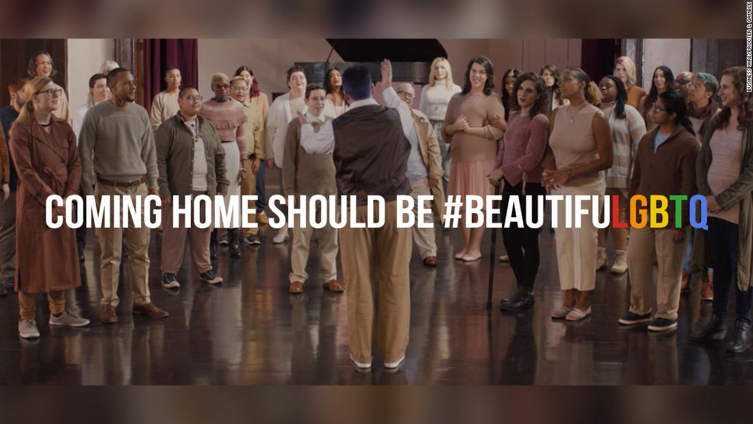 In Pantene's new video series, transgender people talk about what it's like to go home for the holidays