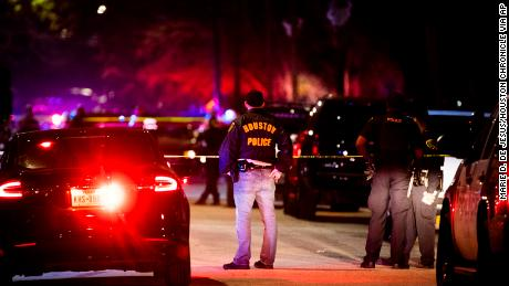 A Houston police officer dies after being shot in the line of duty