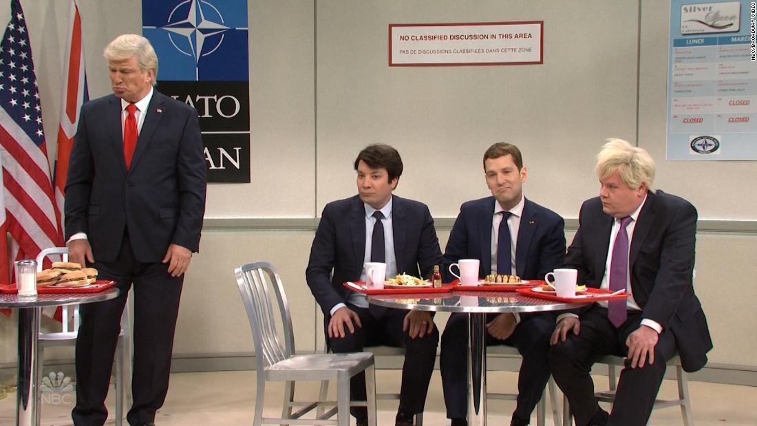 NATO bullies target President Trump on 'SNL'