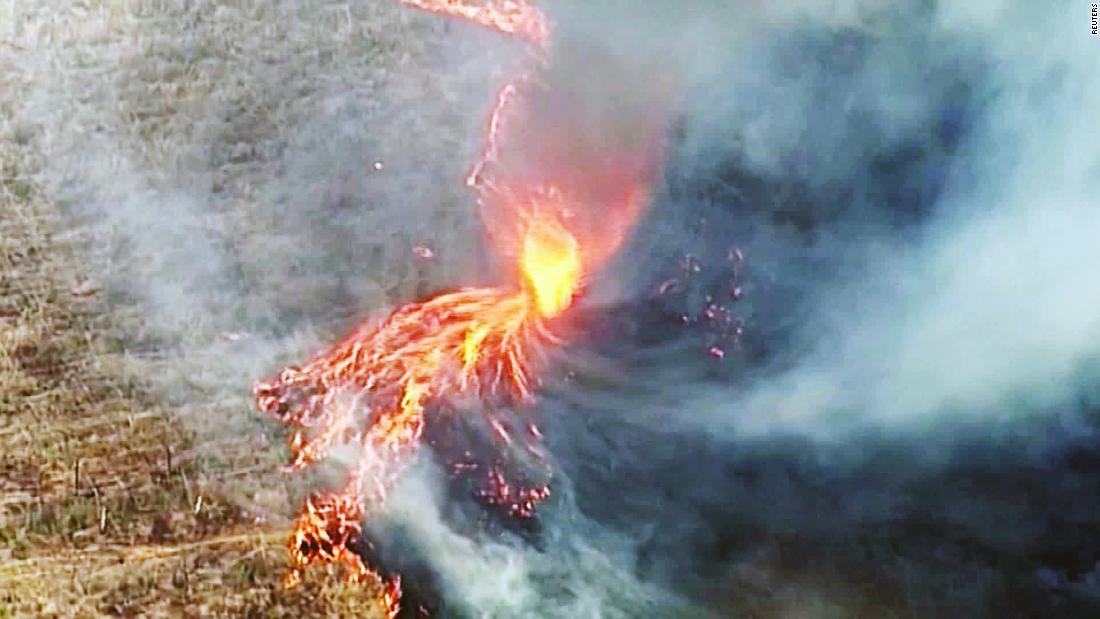 'Firenados' wütet über Australien