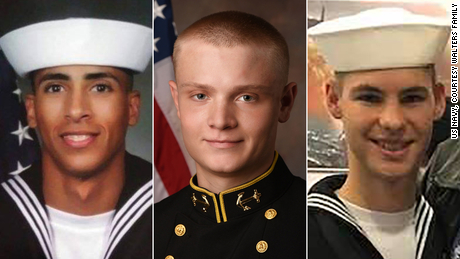 Victims of the December 6th attack at Naval Air Station Pensacola