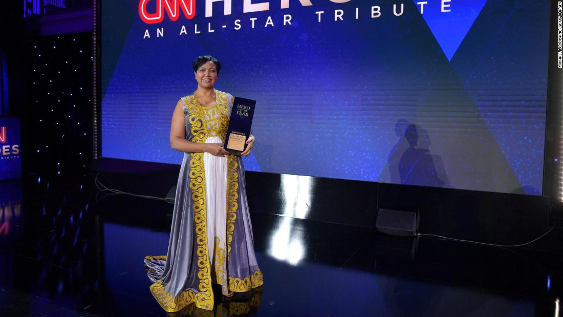 2019 Hero of the Year describes the moment she won