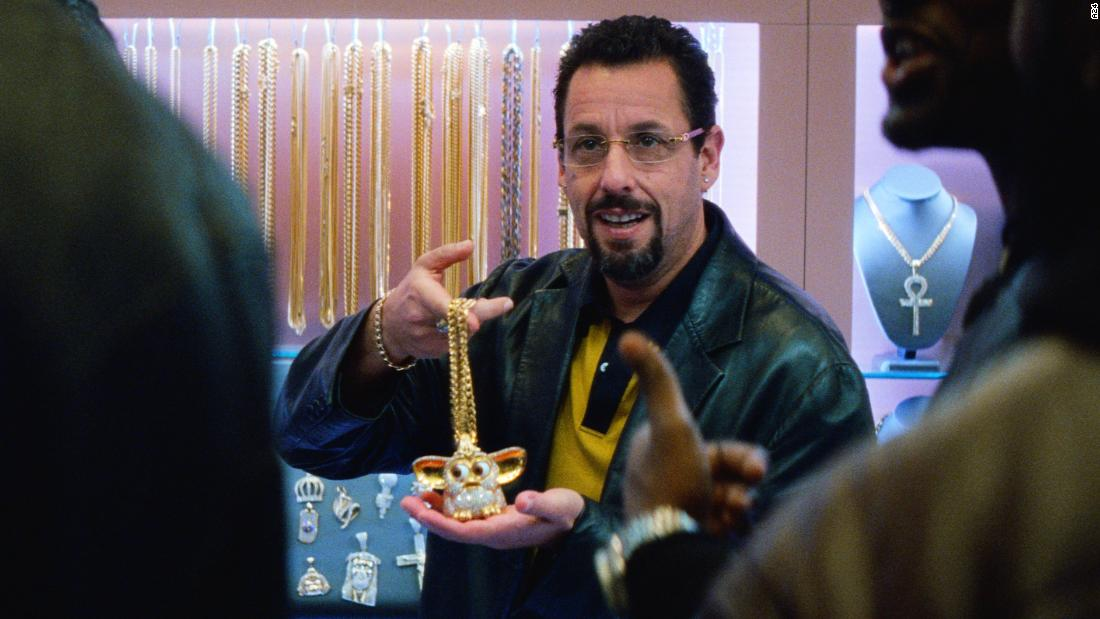 Adam Sandler shows his serious side in the manic 'Uncut Gems'