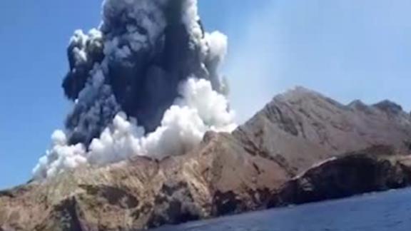 Image result for At least 5 people dead, 10 missing after volcanic eruption