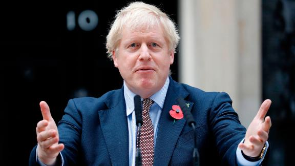 Boris Johnson refused to look at the image of ill Jack Williment-Barr during an interview.