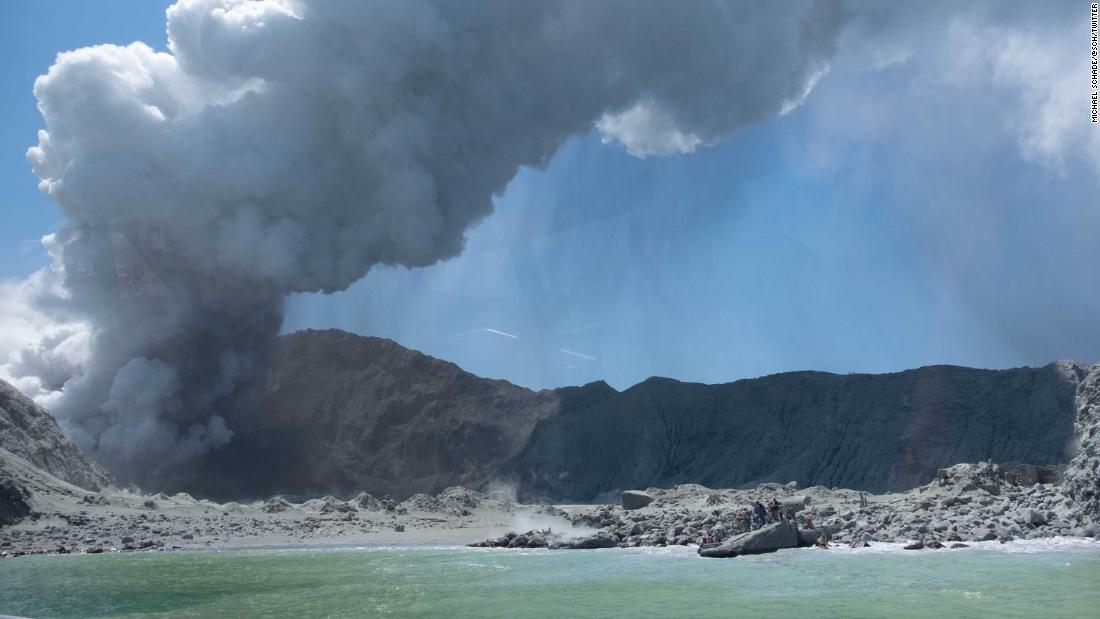 Search teams recover bodies from White Island volcano