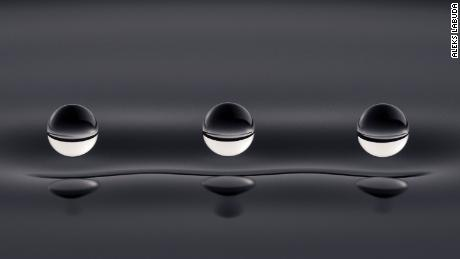 "Dr. Aleks Labuda's ""Quantum Droplets"" was crowned the winner of the Royal Society Publishing Photography Competition."