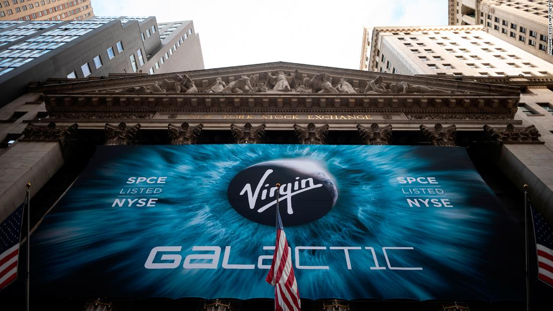 Virgin Galactic's stock could soar 726%, Morgan Stanley says