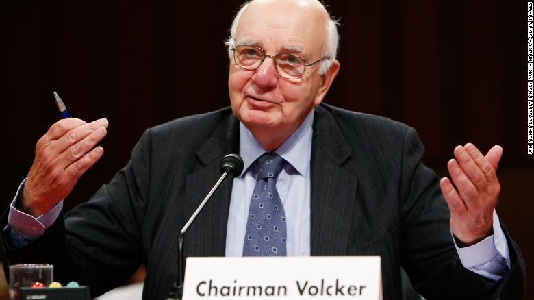 Resultado de imagen de Paul Volcker