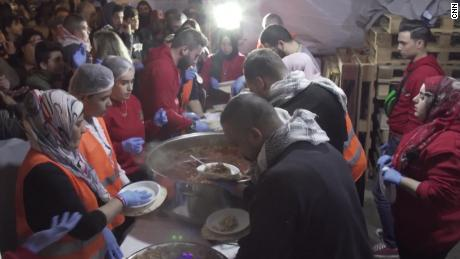 'Kitchen of the Revolution' caters to poor affected by protests in Lebanon
